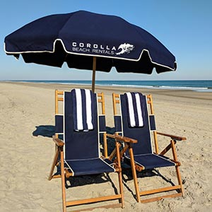 Corolla Light Beach Rentals Towels